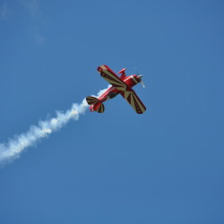 Aerobatic performances are among the highlights of the Owls Head Transportation Museum's Wings & Wheels Spectacular Saturday, August 8 and Sunday, August 9.