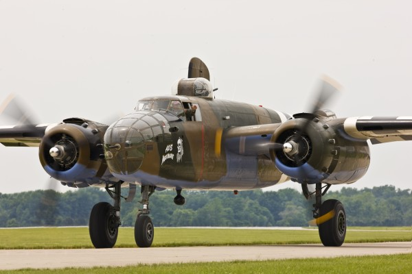 "WWII Warbirds, including the B-25 Mitchell ""Axis Nightmare,"" will headline the Owls Head Transportation Museum's most impressive event of the season, the Wings & Wheels Spectacular, on Saturday, August 8 and Sunday, August 9."