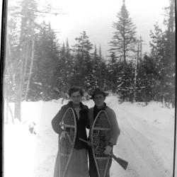 Snowshoes, photograph