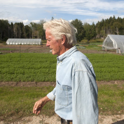 A fan of farmers: New MOFGA executive director brings diverse experiences to Maine