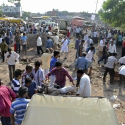 Court bomb kills 10 in worst attack in New Delhi since 2008