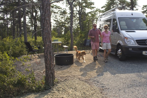 Acadia Opens New Campground Trails In Winter Harbor Outdoors Bangor Daily News BDN Maine
