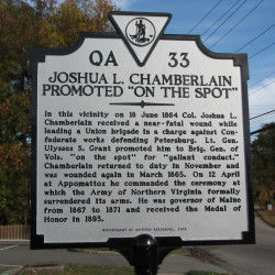 Maine native seeks to place historical marker at Virginia site where Joshua Chamberlain was shot