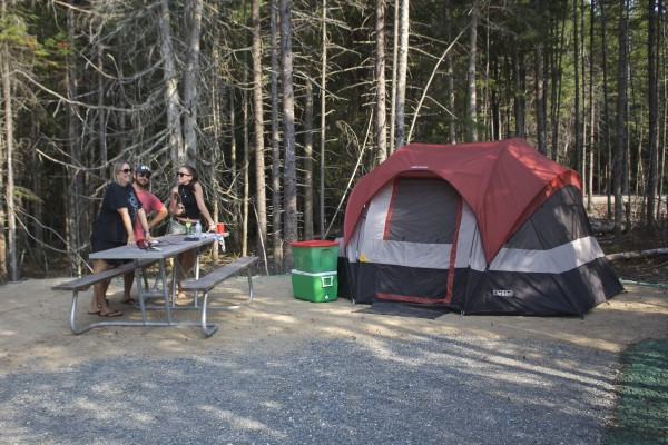 Acadia opens new campground, trails in Winter Harbor ...