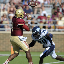 Young linebackers shine in UMaine opener