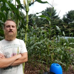 Aaron Parker is the owner of Edgewood Nursery on Cruston Way in Falmouth, which specializes in unusual edibles from around the world.