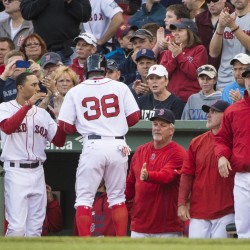 Napoli strikes again as Red Sox pummel Cleveland