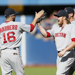 Peavey pitches Red Sox past Blue Jays