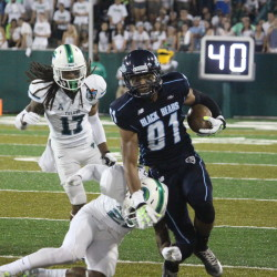 UMaine defensive line stands tall against Pittsburgh
