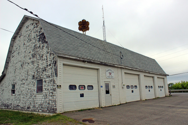 The town of Oakfield will use money it received from SunEdison, Inc. for the erection of windmills in the town to build a new fire station for the community.