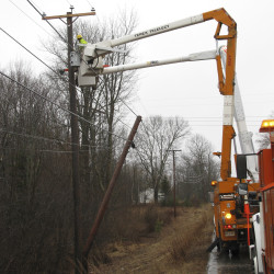 CMP asks residents to avoid posting signs on utility poles