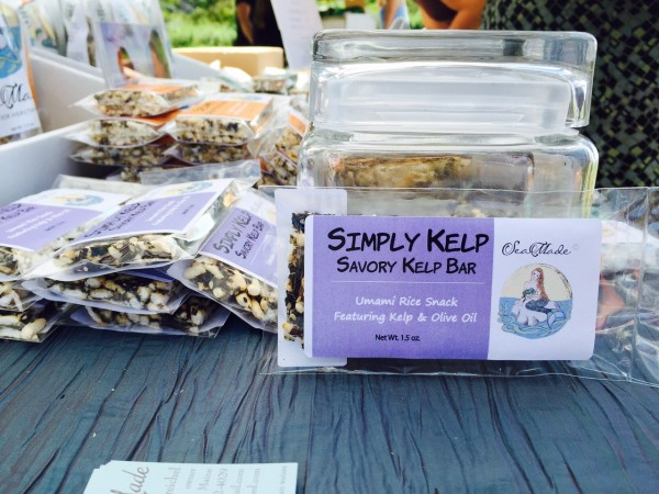 New food startups like SeaMade touted sea veggies as a healthy alternative on Saturday at the second annual Maine Seaweed Festival in South Portland.