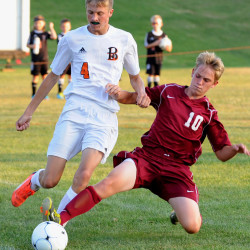 Bangor boys soccer team opens season by edging Messalonskee in overtime