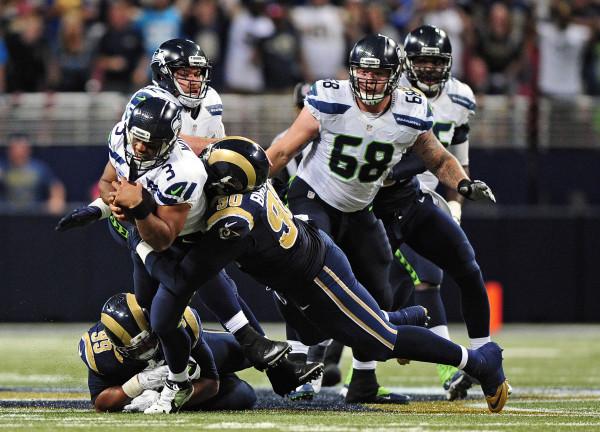 d4410ed9 NFL roundup: Rams stun Seahawks in overtime — Football — Bangor ...