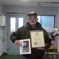 Rockland employee lauded for more than 50 years of working for the city