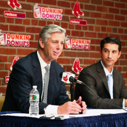 Cherington introduced as Red Sox general manager