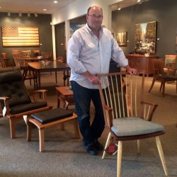 Aroostook County man crafts artful chairs, furniture