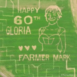 Caribou corn maze honors veterans, depicts 'iconic' World War II photo