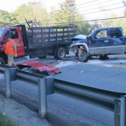 2 Ellsworth women in hospital after overturning on Route 1 in Sullivan