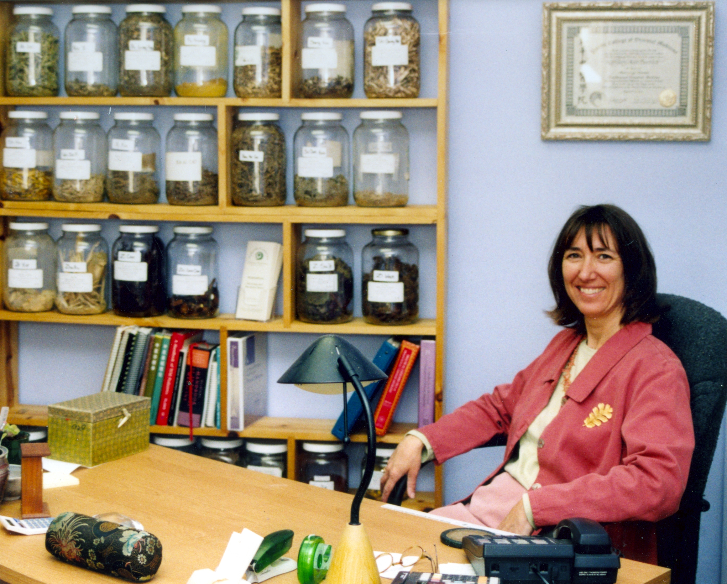 Talk on Chinese medicine in Westbrook