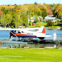 Roger Currier with his restored vintage deHavilland Beaver