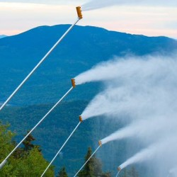 Sunday River fires up snow-making guns