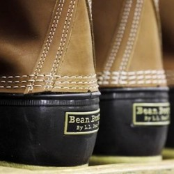 LL Bean boot fashionable as utility becomes hip