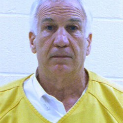 Penn State home county judges out of Sandusky case
