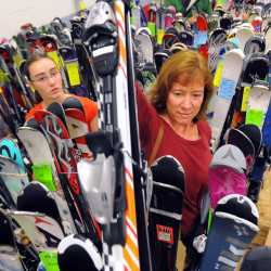 Penobscot Valley Ski Club's Annual Ski Sale