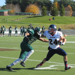 Husson shows offensive balance in win