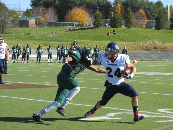 Husson Football Team Capitalizes On Turnovers Beats Suny Maritime