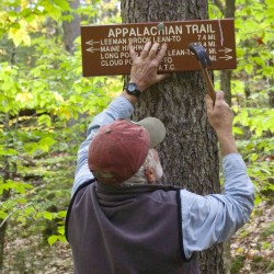 Finding the trail in the 100-Mile Wilderness