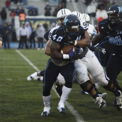 UMaine renews football rivalry with UMass at home of Patriots