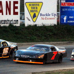 Speedway 95 racing rained out despite lengthy track-drying effort