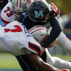 Resilient UMaine defensive end Mike Cole sheds injuries, blockers in assault on sacks record