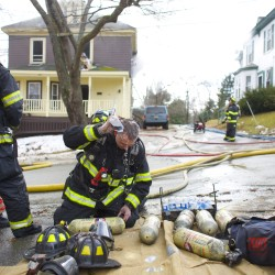 Woman injured re-entering burning house in Bangor in attempt to save her dogs
