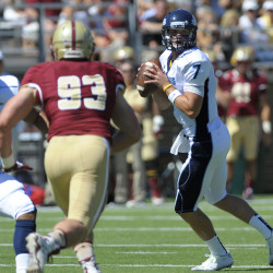 UMaine quarterback shows off running skills to complement arm