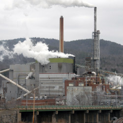 Worker dies at Rumford mill