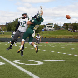 New Husson QB Seccareccia tosses two TD passes as Eagles top Castleton State 34-3