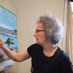 """Opening Reception for John Heliker: """"Paintings from the Cranberry Island Years"""" at Courthouse Gallery"""