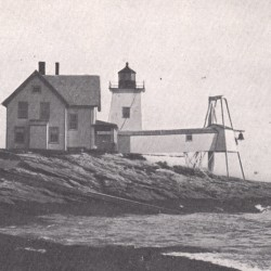 """Hendricks Head Light is one attraction of the """"Haunted Lighthouse Cruises"""" being offered this month by Maine Maritime Museum in Bath."""