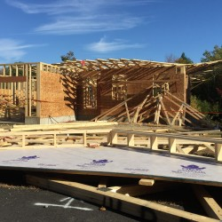 Three workers injured after falling 18 feet when Belmont roof collapses