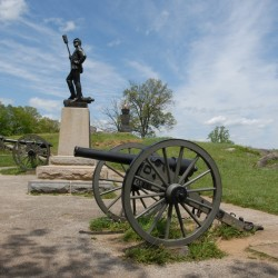 Elijah Walker fought with the devil in his rocky Gettysburg den