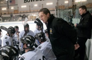 Bowdoin hockey coach's unconventional tactics lead team to state's best on-ice record