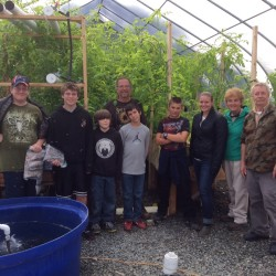 Herring Gut students visited Applied Ponic Technologies, an aquaponics and vermiculture company