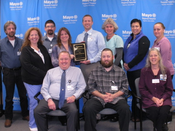 mayo regional hospital wins most improved award for worker safety
