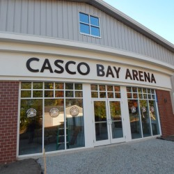 Casco Bay Arena, the new pavilion-style hockey rink on Hat Trick Drive in Falmouth, is scheduled to open Oct. 23.