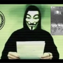 'Anonymous' hackers target US security think tank