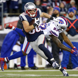 Pats' Amendola, Gronkowski likely out for Thursday game; Enfield's Mulligan back on roster