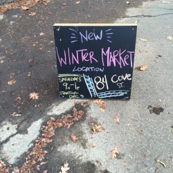 The Portland Winter Farmers Market expands into a new location this year.